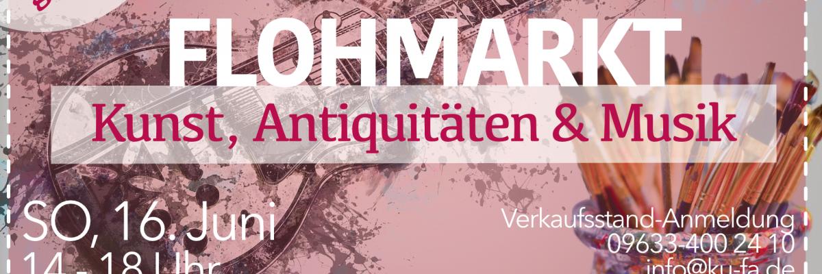 So 1606 Flohmarkt Kunst Antiquitäten Musik Kulturfabrik
